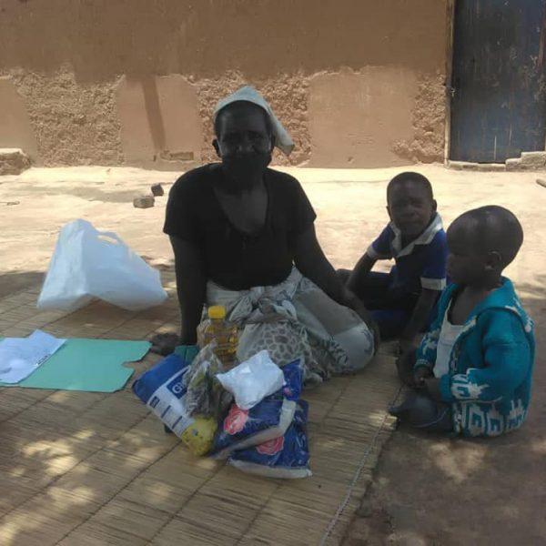 Diapora Insurance donating foos to widows